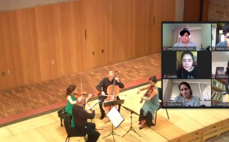 Destacado violinista abordó los desafíos de la música de cámara